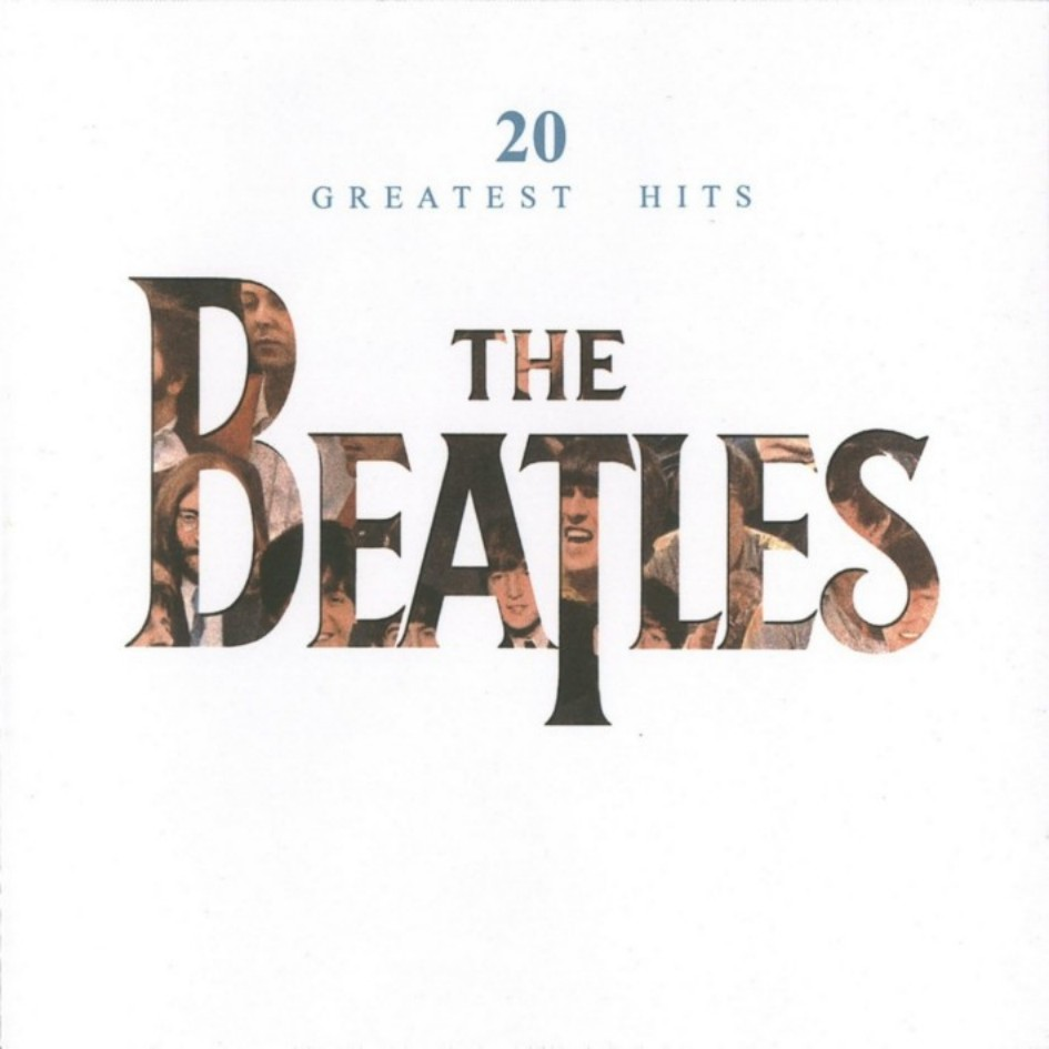"Cover of the Beatles album - ""20 Greatest Hits"""