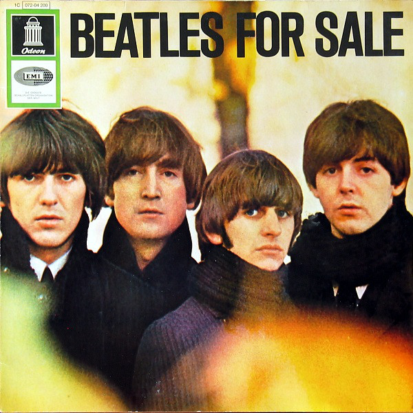 "Cover of the Beatles album - ""Beatles for Sale"""