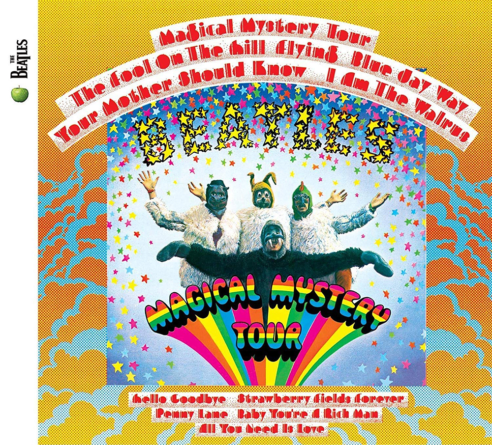 "Cover of the Beatles album - ""Magical Mystery Tour"""