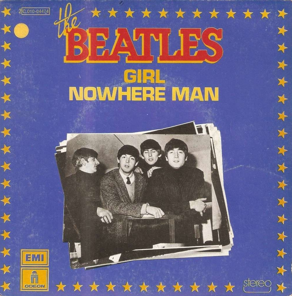 "Cover of the Beatles album - ""Nowhere Man"""