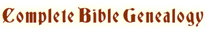 logo Bible Genealogy