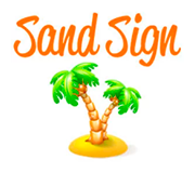 Logo of  Sand Sign