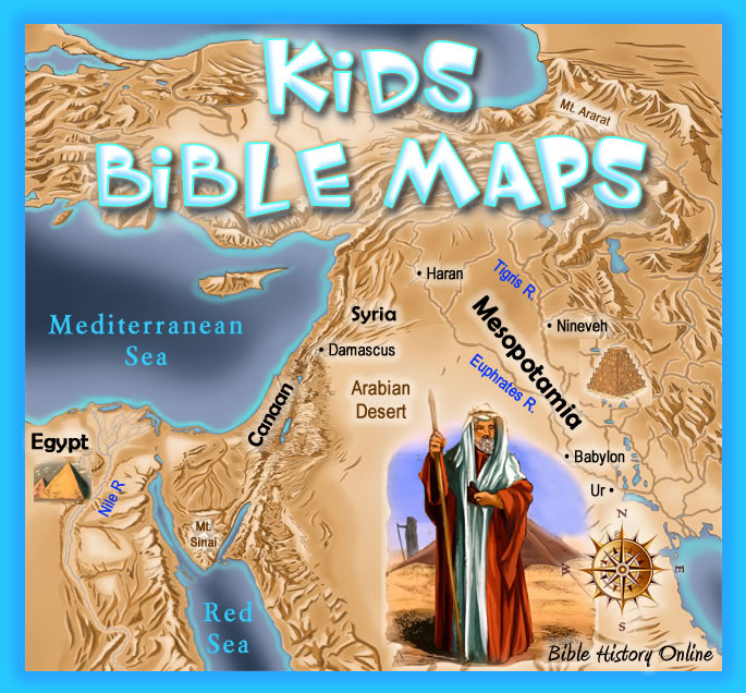 Bible Geography For kids